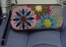 ISABELLA FIORE designer beaded handbag/purse/clutch/evening bag/wristlet