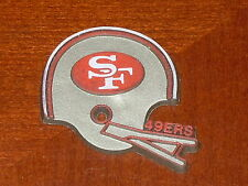 SAN FRANCISCO 49ERS Vintage NFL RUBBER Football FRIDGE MAGNET Standings Board