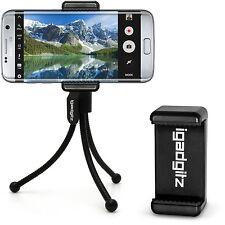 Flexibe Mini Trípode de Mesa con Clip Bolsillo + Soporte Premium de Smartphone