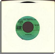 "Delegation - Someone Ought To Write a Song About It + Mr. Heartbreak - 7"" 45!"