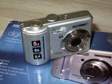 SAMSUNG DIGIMAX S500 5.1 MP Fotocamera Digitale-Argento
