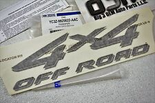 2001-2002 Ford F-250 F-350 Super Duty 4X4 Off Road Decal Emblem new OEM