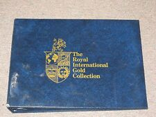Royal International Gold Collection of Official First Day Covers & Proof Medals