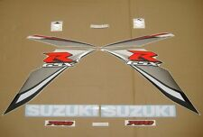 GSX-R 750 2009 full decals stickers graphics kit set k8 k9 transfers pegatinas