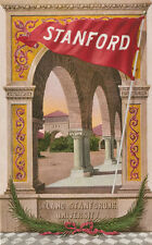 Stanford CA * University Pennant & Archway  1909   E.R. Mitchell Palo Alto