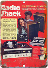 "1976 Radio Shack Catalog vintage advertising 10"" x 7"" reproduction metal sign"