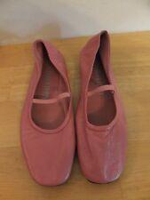 Sam & Libby Carnation Pink Leather Bettina Mary Jane Ballet Flats 6.5 M