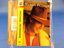 """MICHAEL PETERSON - Self Titled - NEAR MINT 1997 CASSETTE """"From Here To Eternity"""""""