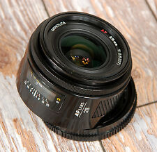 Sony Alpha Digital fit Minolta AF 28mm f2.8 PRIME A33 A55 A77 A57 A99 A560 A580