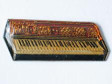 Crunar Keyboard Lapel Pin (lg) Rose