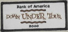 Bank of America Down Under Tour 2000 Patch - Olympics Memorabilia