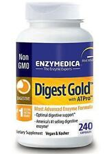 Enzymedica Digest Gold with ATPro 240ct Digestive Support-MSRP $105.95 FREE SHIP