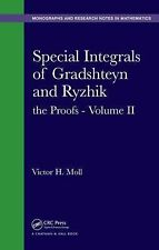 Monographs and Research Notes in Mathematics: Special Integrals of Gradshetyn...