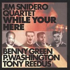 While Your Here Snidero, Jim Audio CD