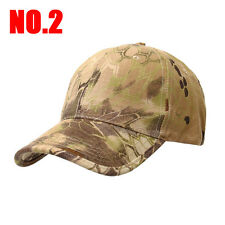 New Camouflage Military Adjustable Hat Camo Hunting Fishing Army Baseball Cap