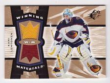 2006-07 NHL SPx Winning Materials Jerseys # WM-KL Kari Lehtonen