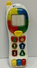 VTech  TOUCH PHONE BABY TODDLERS MUSIC LIGHTS TALKING MUSIC NUMBERS SHAPES