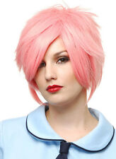 Hot Pink Strawberry Blonde Anime Adult Women's Costume Wig (New)