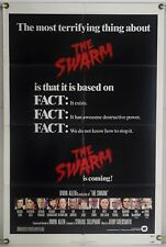 THE SWARM FF ORIG 1SH MOVIE POSTER IRWIN ALLEN MICHAEL CAINE BEES HORROR (1976)