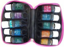 ESSENTIAL OIL ROSE TRAVEL CASE for 10 BOTTLE 5ml to 15ml