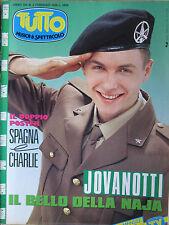 TUTTO 2 1989 Jovanotti Charlie Rick Astley Sigue Sigue Sputnik Hue Cry Priviero