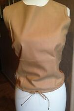 New! $1,895 GUCCI Runway Leather Blouse Top Tom Ford It 40 / 4