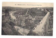 dinan  vue sur la rance et le grand pont