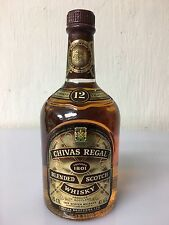 CHIVAS REGAL 12 years old  75cl 43% - 86 Proof Scotch Whisky Aberdeen Vintage 07
