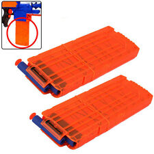 2pcs 12 Rounds Magazine Clip for #R Nerf Nerf N-strike Elite Blaster 9925 9926