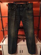 SALE Ralph Lauren RRL DOUBLE RL USA Japanese Selvedge Straight Jeans Men 39 x 34