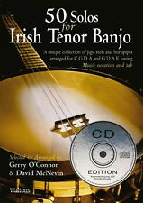 50 Solos Guide to Learning the Irish Tenor Banjo - Gerry O'Connor