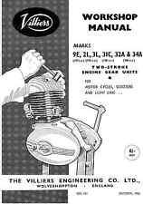 Villiers Mk9E 2L 3L 31C 32A 34A workshop manual