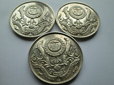 3 STERLING SILVER FISHING MEDALS