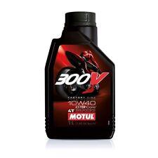 MOTUL 300V OLIO MOTORE 100% SINTETICO DOUBLE ESTER 10W-40 FLACONE da 1 LITRO