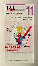 JAL Japón Airlines - Línea aérea Calendario - 1992 - Edición 1