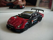 Ebbro MMP Nissan Skyline Super GT-R R35 in Black/Red on 1:43