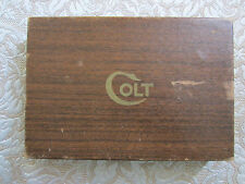 Colt 38 Super Automatic Pistol Colt Blue Gun box parts vintage