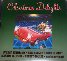 Christmas Delights CD Barbra Streisand Bing Crosby Mahalia Jackson Jim Nabors