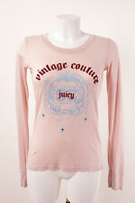 JUICY COUTURE Damen Langarmshirt Gr. M / DE 38 Shirt figurbetont