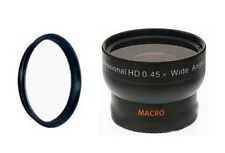 Wide Lens + Tube Adapter bundle for Nikon Coolpix P80 Digital Camera