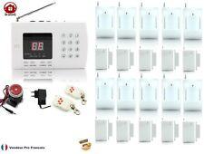 Kit Système d'alarme de maison sans fil auto appel téléphonique Kit-10-10 Zones