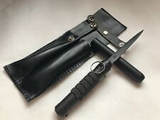 KNIFE RUSSIAN ARMY SPETSNAZ KGB (2 Type) No.577/80  w/Leather Case