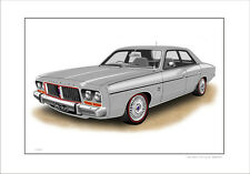 VALIANT  CHRYSLER  CM  GLX  SEDAN  245 HEMI    LIMITED EDITION CAR PRINT