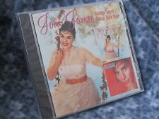 "JONI JAMES ""SWINGS SWEET / BOSSA NOVA STYLE"" 2 CD'S ON ONE DISC 2003 EMI NEW IP"