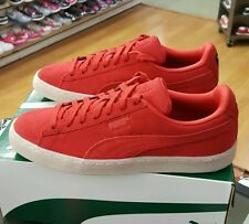 PUMA SUEDE CLASSIC COLORED 360850 02 HIGH RISK RED MENS US SZ 7.5