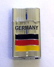 Deutschland Fahne Feuerzeug German Sturmfeuerzeug BRD DDR gas lighter