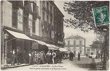 St NAZAIRE (44) - La Rue Thiers dans sa partie aboutissant à la Place de la Gare