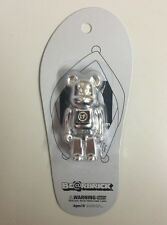 Medicon Bearbrick 100% Genbei Silver foot Be@rbrick