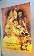Crouching Tiger Hidden Dragon Movie Poster Ang Lee Chow Yun Fat Yeoh Chen pin-up