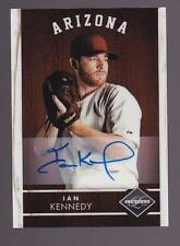 Ian Kennedy Signed 2011 Panini Limited Autographed Baseball Card 019/199